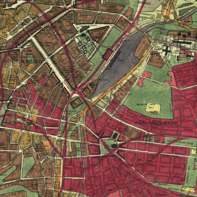 Archiv map územních plánů hl. m. Prahy