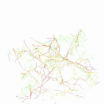 Informativní mapa inženýrských sítí