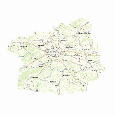 Základní mapa MTVU