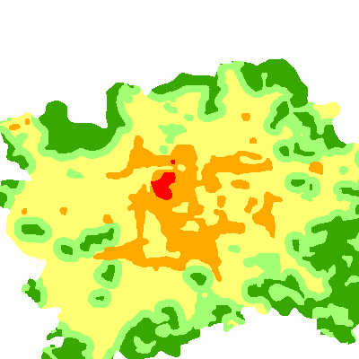 Mapa bonity klimatu