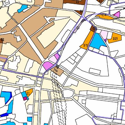 Platný územní plán - neaktualizované výkresy
