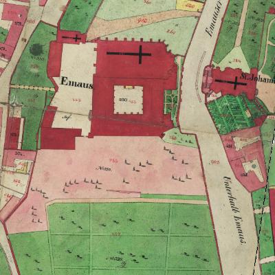 Mapa Stabilního katastru 1842 v měřítku 1 : 720